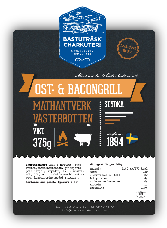 Ost-&-Bacongrill